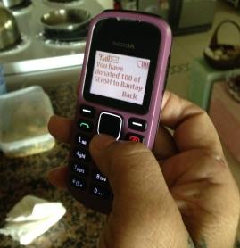 Sending Donations via GCASH Mobile Money